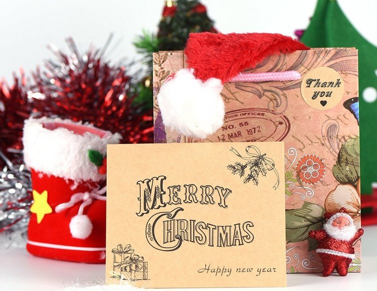 Merry Christmas Cards Greeting Notes Cards with 36 Envelopes