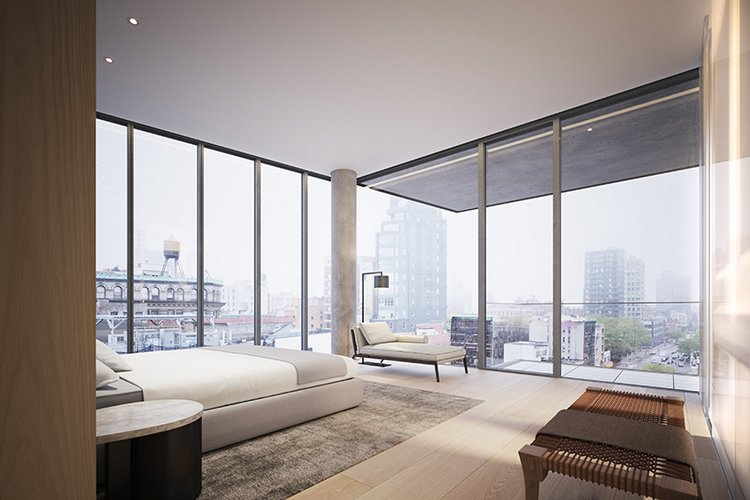 New Penthouse Renderings NYC Residential Building Images
