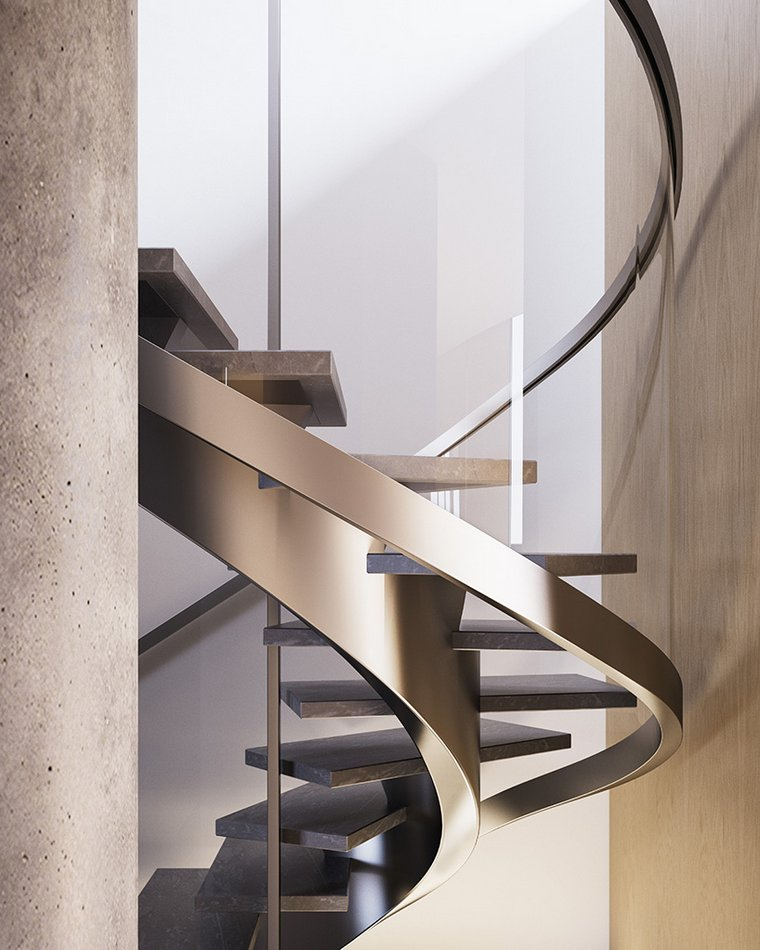 New Penthouse Staircase Renderings Images