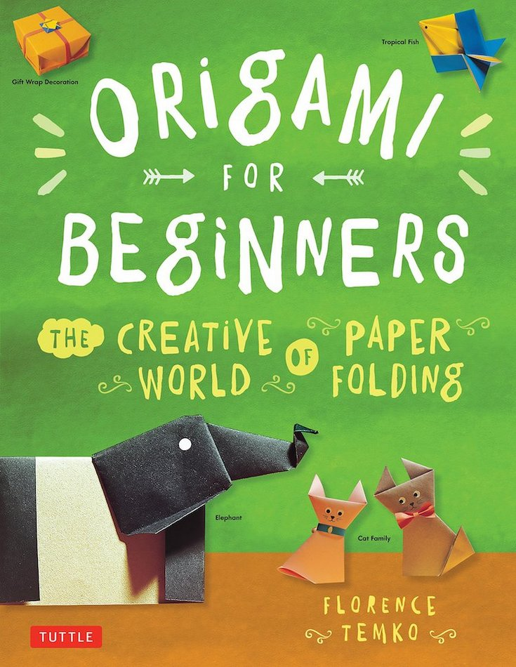 Origami for Beginners Book creative christmas gifts for kids