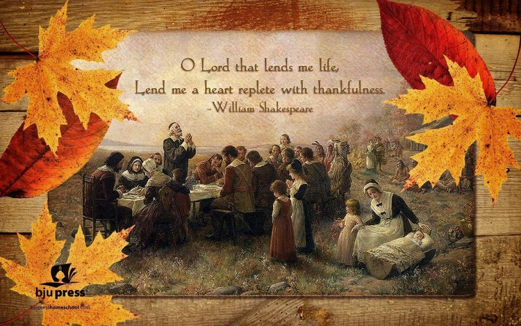 thanksgiving quote image