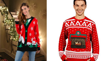 10 Ugly Christmas Sweaters