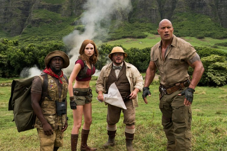 2017 Jumanji Welcome to the Jungle Movie Wallpaper Download