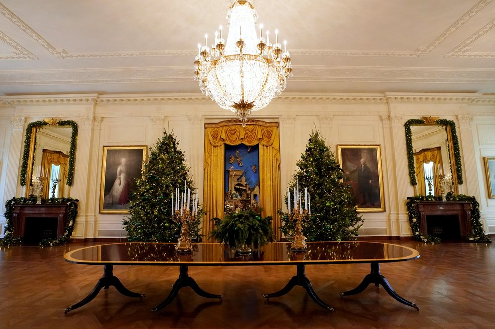 20 Beautiful Photos of White House Christmas Decorations 2017