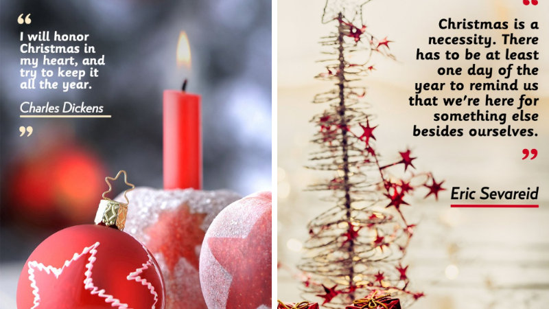 30+ Best Christmas Quotes for Facebook