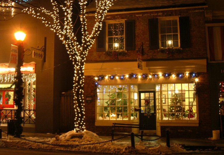 25 Best Christmas Towns in USA Lewisburg, WV
