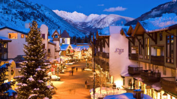 25 Best Christmas Towns in USA, Vail, CO