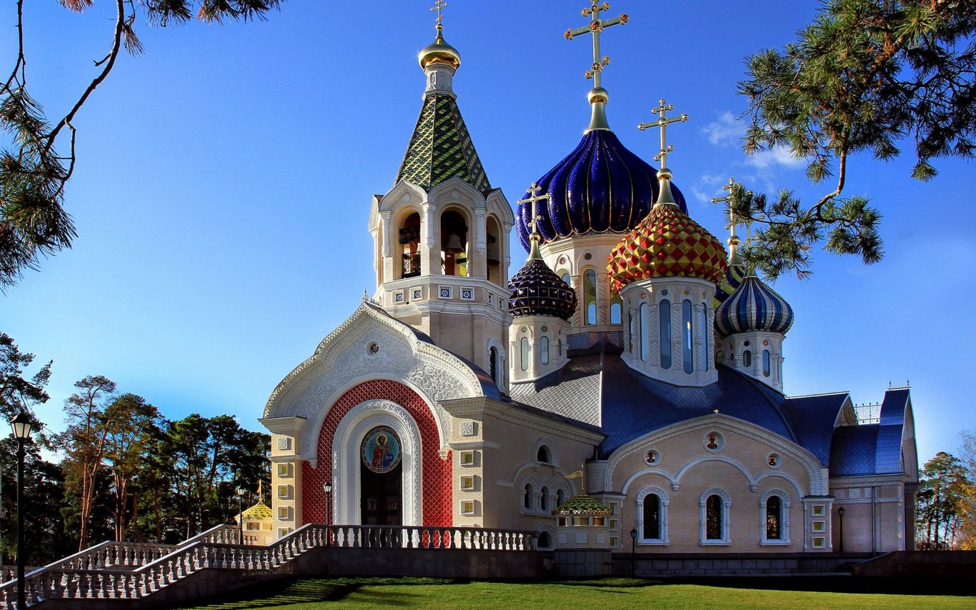Church in Russia Photo Wallpaper-1920x1200
