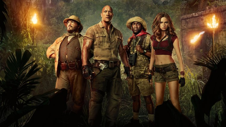 Jumanji Welcome to the Jungle Movie Poster 4K HD Wallpaper-3840x2160