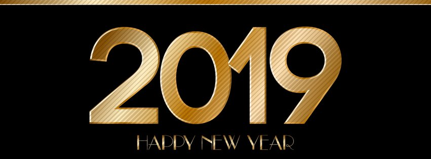 30 Beautiful Happy New Year 2019 Facebook Cover Photos