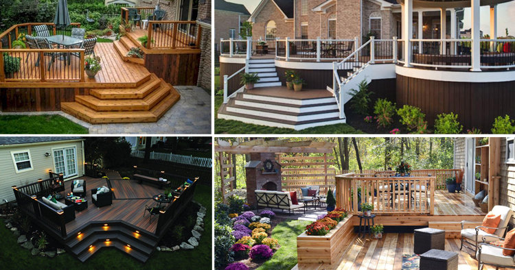 21 Cool Wooden Deck Design For Your Home