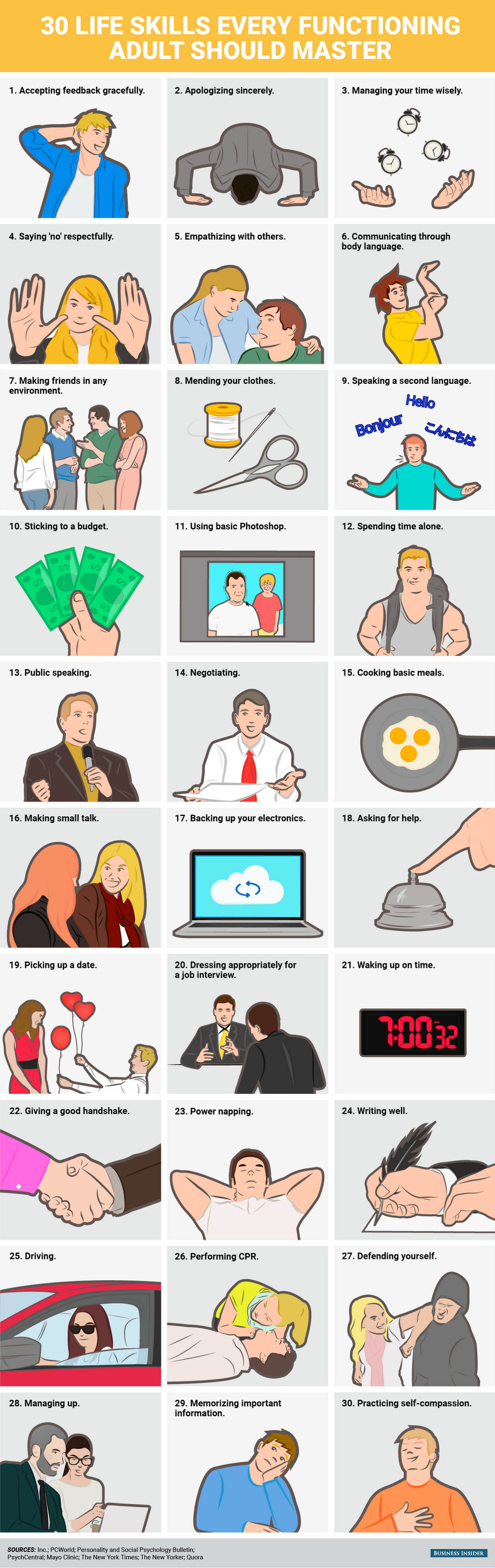 30 Life Skills Every Professionals Should Master