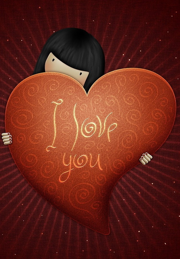 Just I Love You iPhone Wallpaper