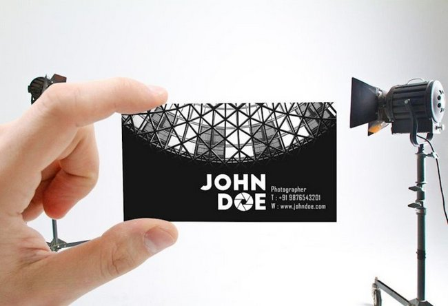 21 Business Card Mockups to Free Download