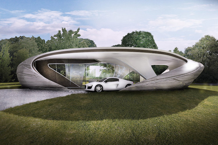 Sophisticated 3D-Printed Home
