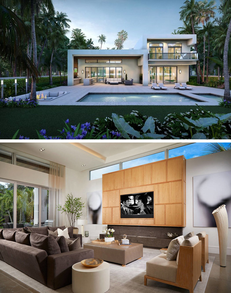 Beautiful Contemporary Home in Naples, Florida