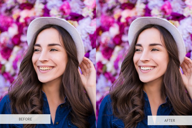 Teeth Whitening Free Photoshop Actions