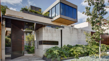 Concrete-House-in-Mexico-City-Surrounded-by-Gardens-1