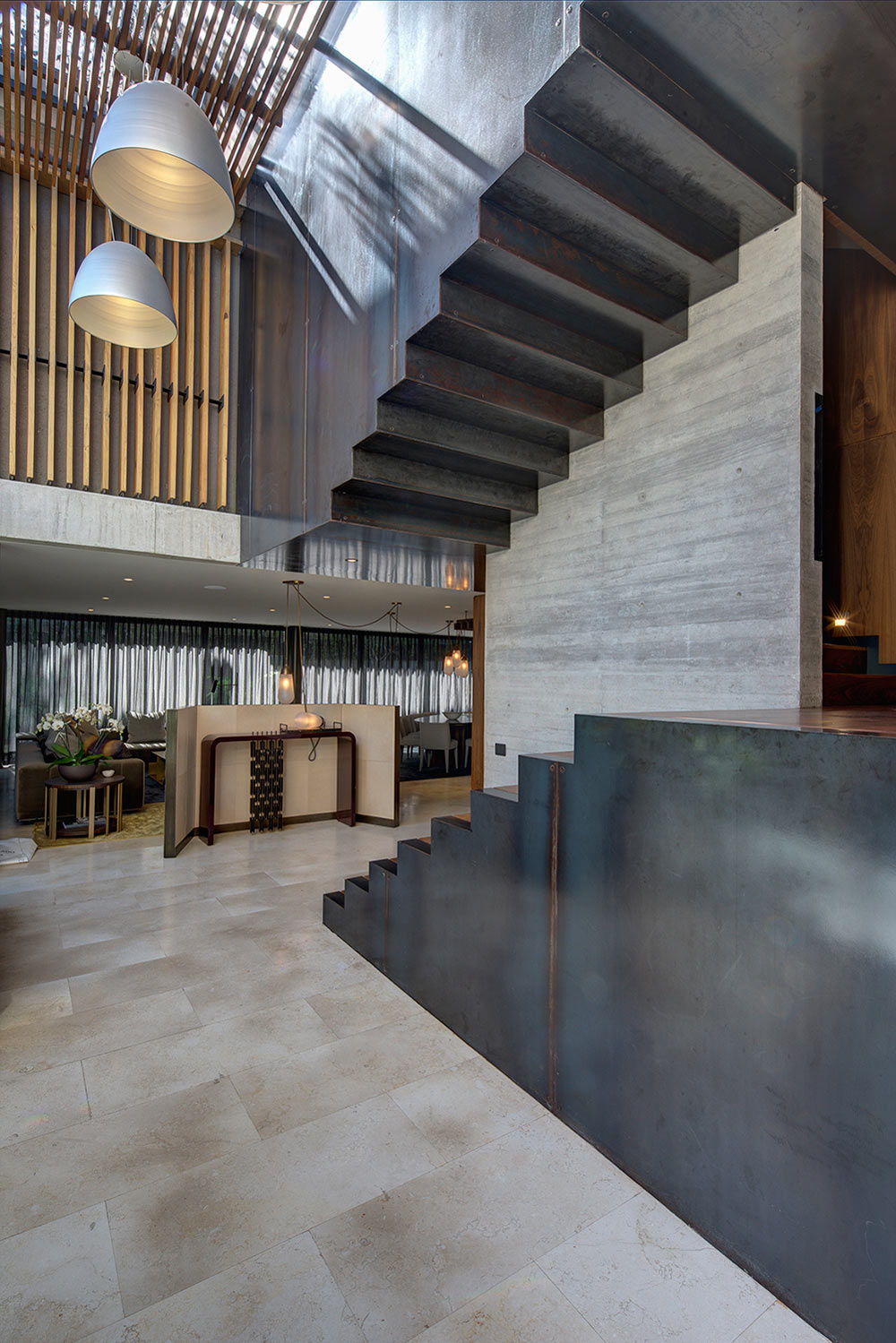Beautiful Concrete House in Mexico City