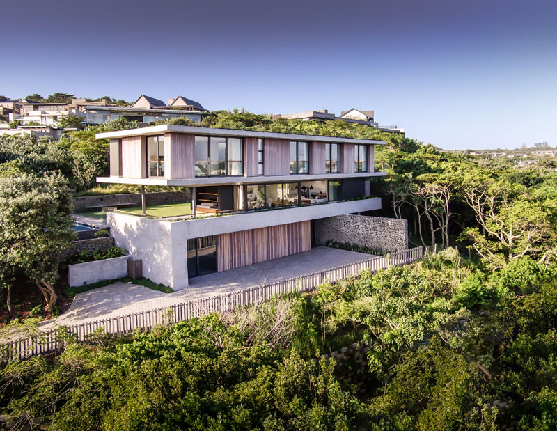 Durban Contemporary House Surrounded By A Coastal Forest