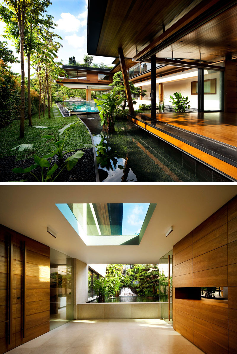 Exciting Dynamic House in Singapore