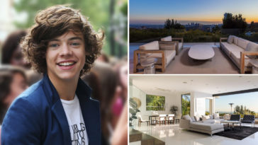 Inside Harry Styles' Modern Los Angeles Villa