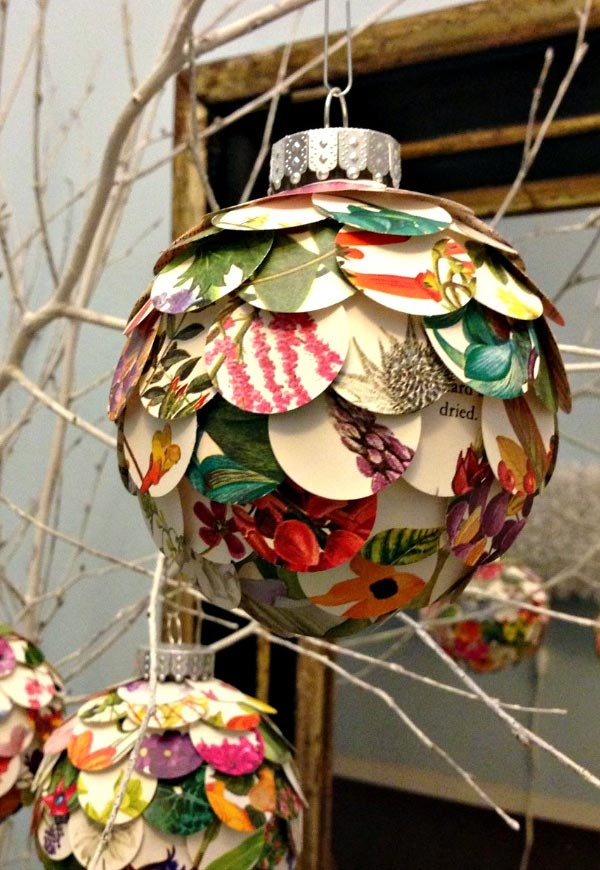 Artichoke DIY Christmas Bauble Ornament