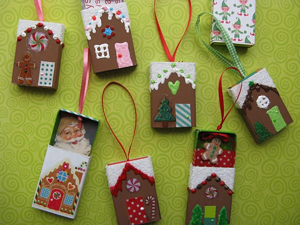 Christmas Gingerbread House Ornaments