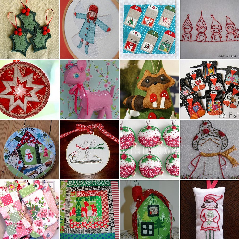 Various Tree Ornament Ideas