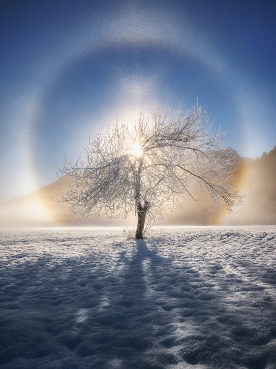 """Ring of Frost"" by Ales Krivec, Slovenia"