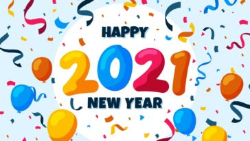 happy new year 2021 image wallpaper HD